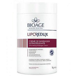 Lipo Redux Creme de Massagem Ultradeslizante Bioage 1Kg