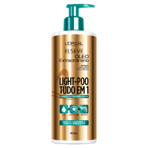 Elseve Light-poo Óleo Extraordinário Loréal Paris 400ml