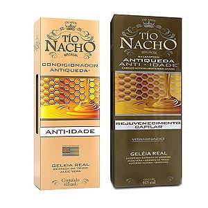 Kit Shampoo e Condicionador Tio Nacho Antiqueda 415ml
