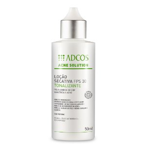Acne Solution Loção Secativa Fps 30 Tonalizante Adcos 50ml