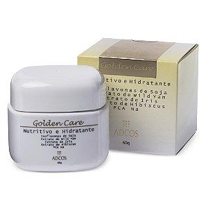 Golden Care Creme Nutritivo e Hidratante Facial Adcos 60g