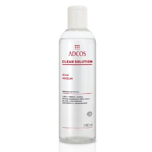 Clean Solution Água Micelar Adcos 240ml