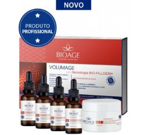 Kit Volumage Com Tecnologia Bio-Fillderm Bioage
