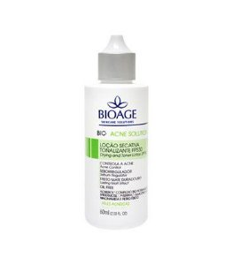 Bio-Acne Solution Loção Secativa Tonalizante FPS 30 Bioage 60ml