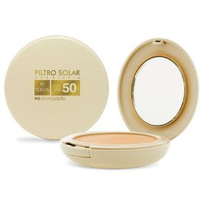 Pó Compacto Filtro Solar Tonalizante FPS 50 Adcos 11g
