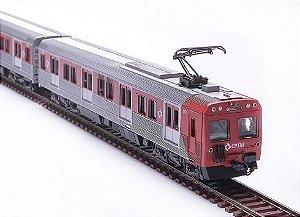 Trem Metropolitano CPTM Vermelho -6318