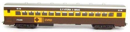 Carro 2° Classe Aço Carbono EFVM - CVRD -  2487