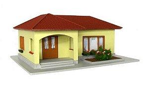 Casa Brasileira em L - QMODELS - C19
