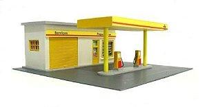 Posto de Gasolina - QMODELS - C20