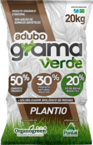 Adubo Grama Verde Plantio