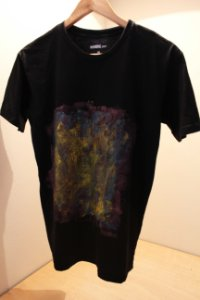 Camiseta Preta Unisex Abstract
