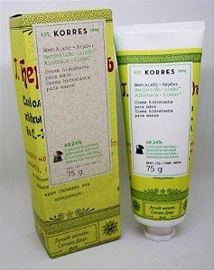 Creme Hidratante para Mãos de Manjericão-Limão - 75g