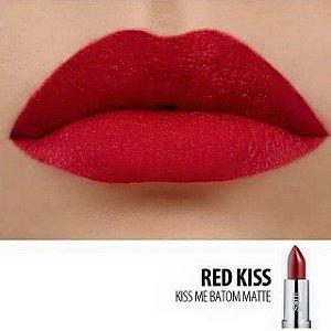 Batom Soul Kiss Me Red Kiss - 3,5g