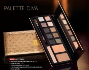 Palette Diva -  Estojo de  Maquiagem Multifuncional