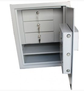 Cofre Eletrônico Company  c/ 3 Gavetas com chaves
