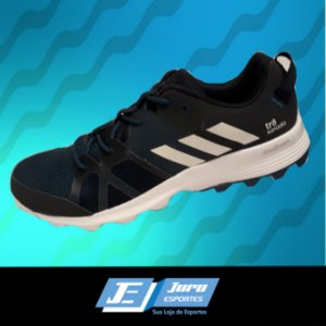 2fe26020a17b7 Tênis Adidas Kanadia 8 TR W Preto Rosa - Juro Esportes