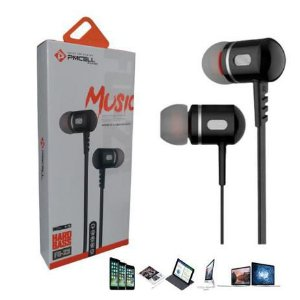 Fone de Ouvido com Microfone Estereo P2 PMCELL FO-23 Chumbo