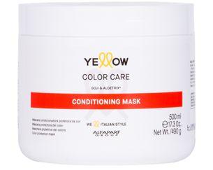 Máscara Condicionadora Yellow Alfaparf Color Care Gojiberry e Aloetrix 500g