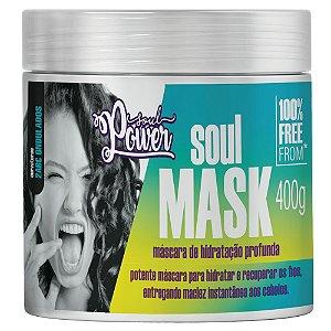 Máscara de Hidratação Soul Power Soul Mask 400g