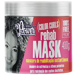 Máscara de Reabilitação Soul Power Color Curls 400g