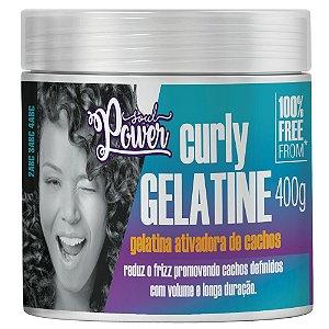 Gelatina Ativadora de Cachos Soul Power Curly Gelatine 400g