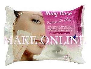 Lenço Demaquilante Removedor de Maquiagem Ruby Rose HB 200 Rosa
