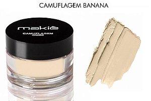 Camuflagem Creme Makiê Banana