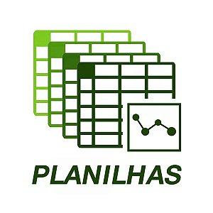 Planilhas: Pacote de (06) Planilhas para Futebol