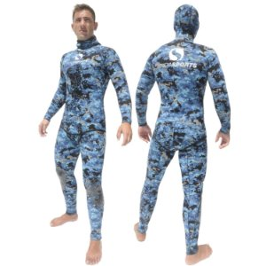 Roupa Onda Sports Neoprene STD Camo Blue