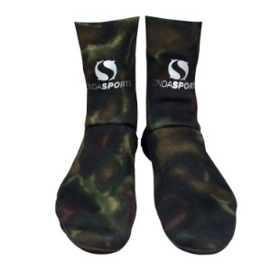 Meia Onda Sports Neoprene STD Camo Brown