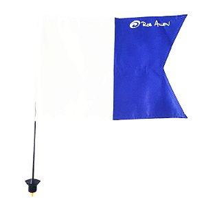 Bandeira Azul e Branca para bóias plásticas Rob Allen