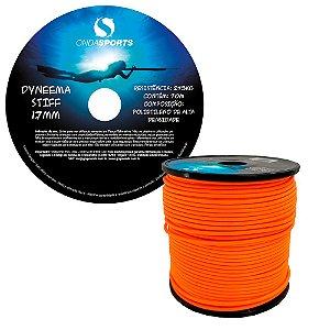 Linha Dyneema STIFF 1,7 mm (100% UHMWPE) Onda Sports (LARANJA)