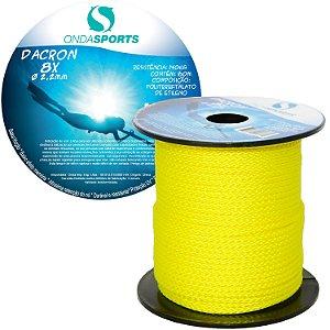 Linha Dacron (8 Cordas) 2,2mm  Onda Sports (Amarela ACID)