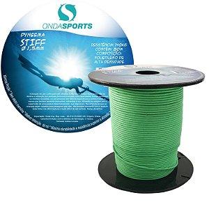 Linha Dyneema STIFF 1,5mm (100% UHMWPE) Onda Sports (verde)