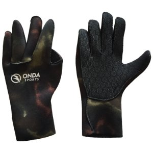 Luva Onda Sports Neoprene STD 2,5mm Camo Brown