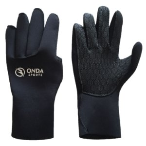 Luva Onda Sports Neoprene STRETCH Preto Teste