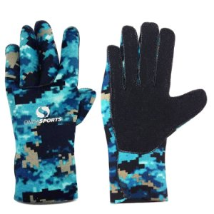 LUVA ONDA SPORTS NEOPRENE 2,5MM CAMO BLUE