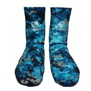 Meia Onda Sports Neoprene STD Camo Blue
