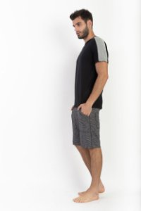 Camiseta Masculina Recorte Ombro