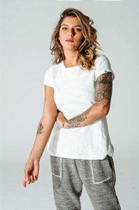Camiseta Oversized Feminina Off White