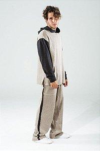 Blusão Masculino Canguru Areia