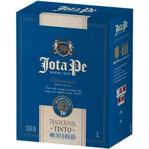 Vinho Jota Pe Tinto Tradicional Bag in Box 3L