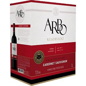 Vinho Arbo Cabernet Sauvignon Bag in Box 3 Litros