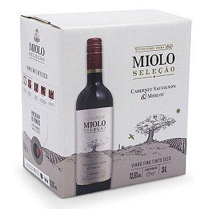 Vinho Miolo Seleção Tinto Bag in Box 3 litros