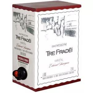 Vinho Tre Fradei Cabernet Sauvignon Bag in Box 5 litros