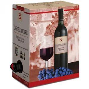 Vinho Castellamare Tannat Bag in Box 3 Litros