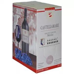 Vinho Castellamare Merlot Bag in Box 3 Litros