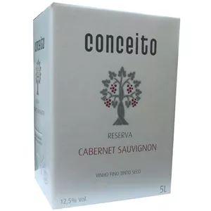 Vinho Conceito Reserva Cabernet Sauvignon Bag In Box 5 Litros