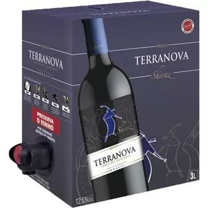 Vinho Terranova Shiraz Bag In Box 3 Litros