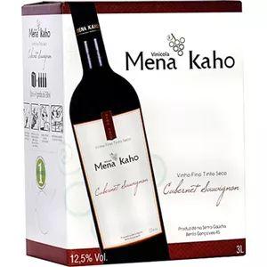 Vinho Mena Kaho Cabernet Sauvignon Bag in Box 3 Litros
